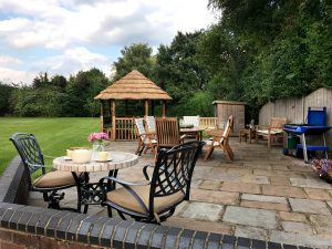 Garden Patio Big Cottage Yorkshire