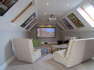 Cinema Room Hen Party Cottage