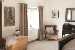 Master Bedroom Decor Luxurious North Yorkshire Cottage