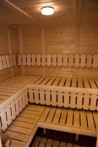 Sauna Luxurious Holiday Cottage